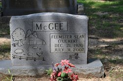 "Feemster Seay ""Tucker"" McGee"