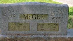 Dovie <I>Williams</I> McGee