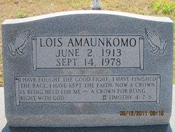 Lois Amaunkomo
