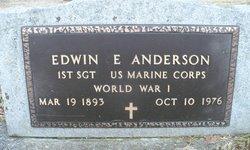 Edwin E. Anderson