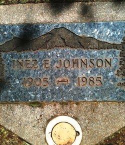 Inez E Johnson