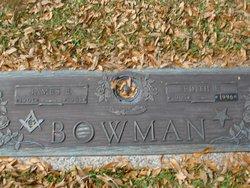 Edith Elizabeth <I>Green</I> Bowman