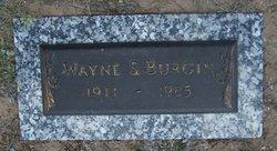 Wayne S Burgin