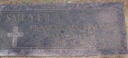 "Frances Magdalen ""Madge"" <I>Schnitzer</I> Lipsmeyer"