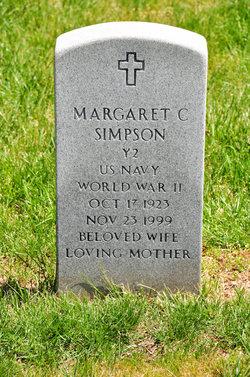 Margaret C Simpson