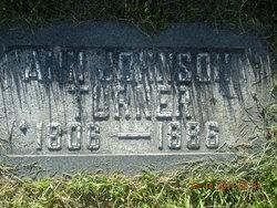 Ann <I>Johnson</I> Turner