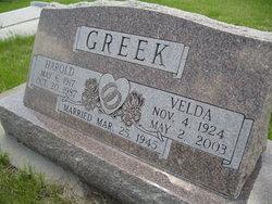 Velda M. <I>Stoffel</I> Greek