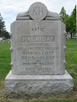 Wealthy Ann <I>Halliday</I> Sheffer
