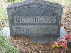 J W Washington