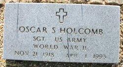 Sgt Oscar S Holcomb