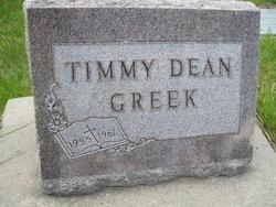 Timmy Dean Greek