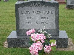 Mary Ann <I>Farrell</I> Beck  Lane