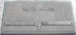 Ruth Adelaide Allen
