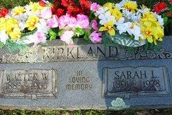 Sarah Luiza <I>Carpenter</I> Kirkland