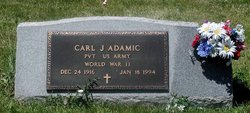 "Carl James ""Kayo"" Adamic"