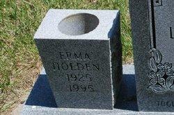 Erma Lucille <I>Ropp</I> Holden