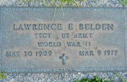 Sgt Lawrence Eugene Belden