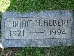 "Miriam H. ""Mim"" Albert"