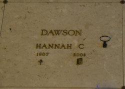 Hannah Caroline <I>Lauffer</I> Dawson