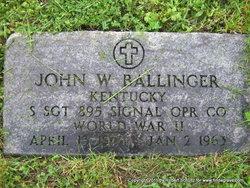 SSGT John William Ballinger