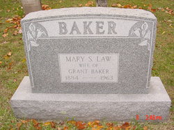 Mary S. <I>Law</I> Baker