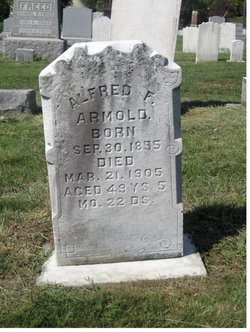 Alfred F Armold