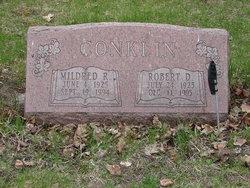"Mildred R. ""Millie"" <I>Jones</I> Conklin"