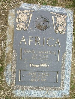 David Lawrence Africa