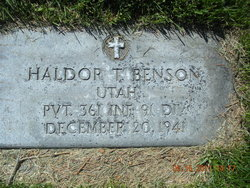 Pvt Haldor Thorwall Benson