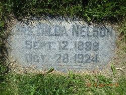 Hilda Amanda <I>Erickson</I> Nelson
