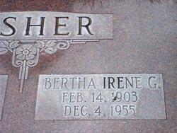 Bertha Irene <I>Garner</I> Fisher