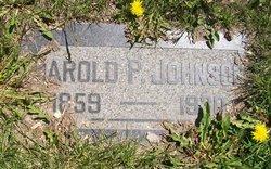Harold Pelton Johnson