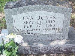 Eva <I>Rogers</I> Jones