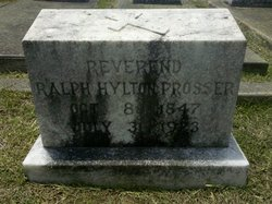 Rev Ralph Hylton Prosser