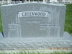 Thomas Foster Greenwood, Jr