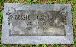 Bessie <I>Lowe</I> Gadberry