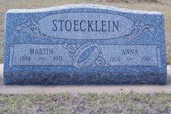"""Annastasia """"Anna"""" <I>Depperschmidt</I> Stoecklein"""