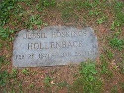 Jessie <I>Hoskings</I> Hollenback