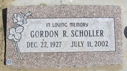 Gordon Richard Scholler