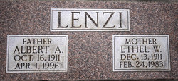 Albert A Lenzi