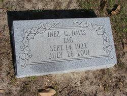 """Inez G """"Tag"""" <I>Hurst</I> Davis"""