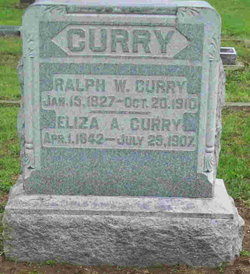 Eliza A <I>Clark</I> Curry