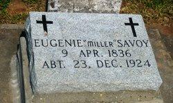 Eugenie <I>Miller</I> Savoy