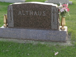 Mary M <I>Zitur</I> Althaus
