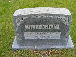 Annie E <I>McCaw</I> Billington