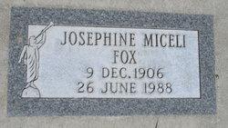 Josephine J Fox