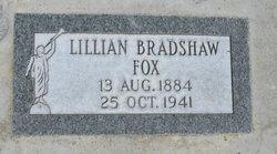 Lillian <I>Bradshaw</I> Fox
