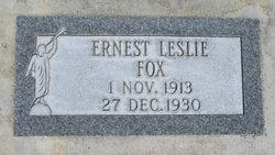 Ernest L Fox