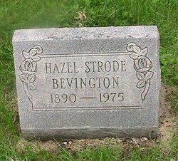 Hazel <I>Strode</I> Bevington
