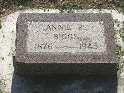 Annie R. <I>Mangan</I> Biggs
